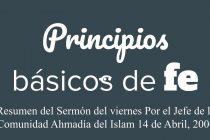 Principios básicos de fe